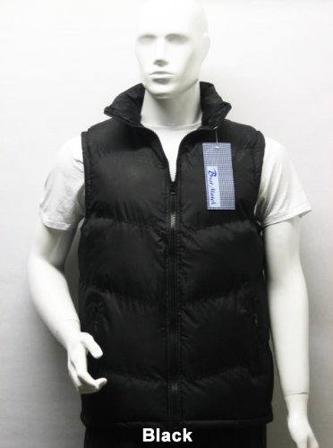 Padded Sleeveless Bodywarmer Gilet Vest Jacket Body Warmer in Black, Size Medium