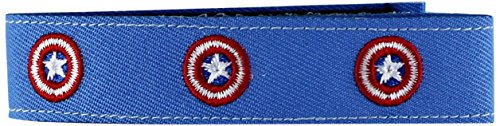 Application Marvel Comics Captain America Shield Fabric Wristband