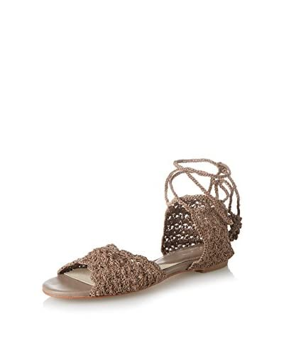 ALL BLACK Women's Crochet Lady Sandal