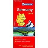 Germany 2014 National Map 718 (Michelin National Maps)