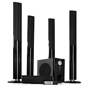 Auna set home cinema surround 5.1 enceintes sans fil 1200W