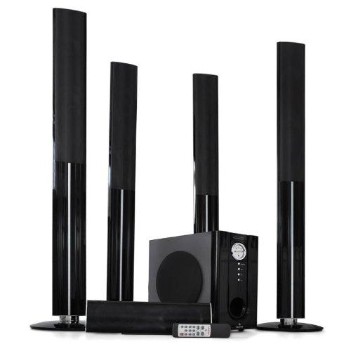 YC-5.1Cinema-WG 5.1 Funk-Lautsprecher Heimkino Boxen Soundsystem 1200 Watt