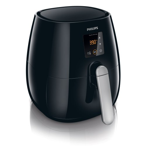 Digital AirFryer with Rapid Air Technology, Black