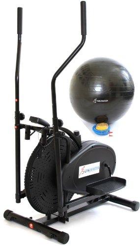 Gym Master Elliptical Exercise - Cross Trainer in Black