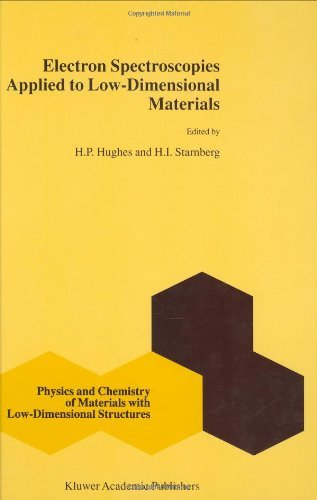 Electron Spectroscopies Applied To Low-Dimensional Structures (Physics And Chemistry Of Materials With Low-Dimensional Structures)