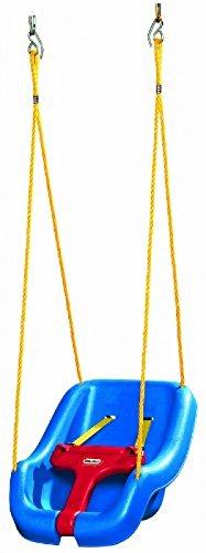 Little Tikes 2-In-1 Snug 'N Secure Swing Blue, New