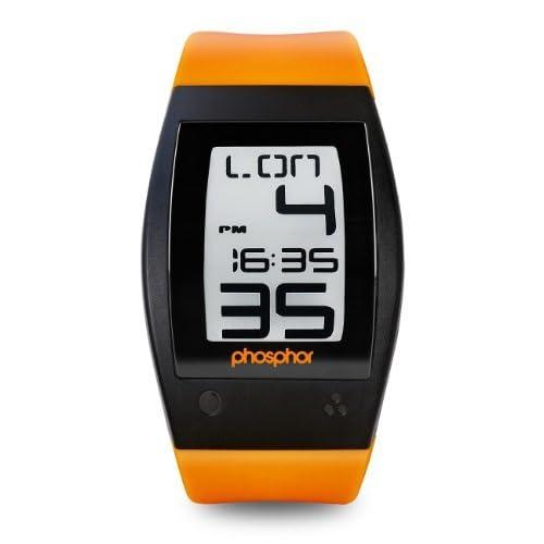 時計 Phosphor Men's WP003 World Time Digital Watch メンズ 男性用 [並行輸入品]