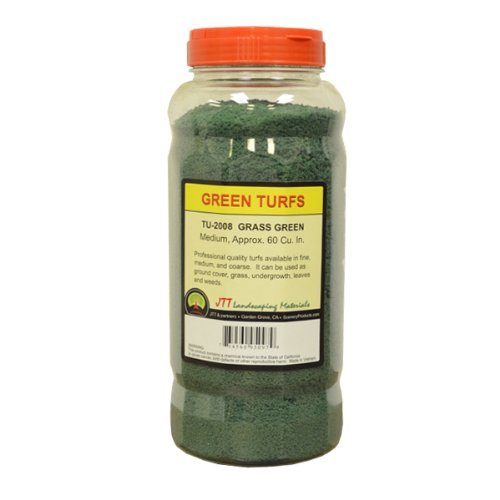 JTT Scenery Products Green Turf, Grass Green, Medium - 1