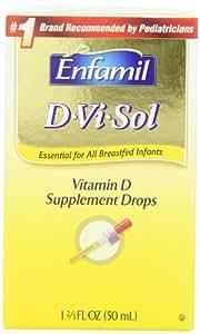 Enfamil D-vi-sol, Vitamin D 50 ml (Pack of 2)