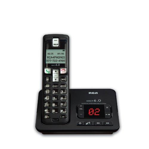 RCA 2102-1BKGA Dect 6.0, 1-Handset Landline Telephone