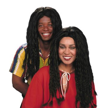 Peluca rasta jamaicano Adult Halloween Costume Accessory