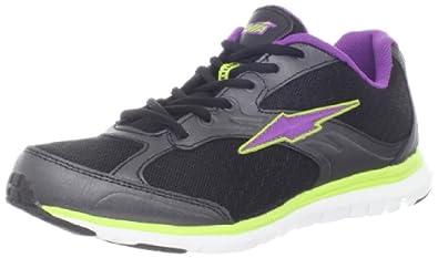 AVIA  Women's A5305W Running Shoe,Black/Dark Purple/White,6 M US