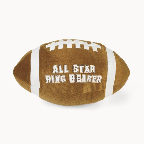 "Plush ""All Star Ring Bearer"" Football"