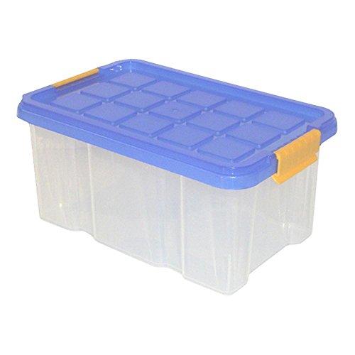 Axentia Boîte de rangement universelle et empilable Avec couvercle, Plastique, Anzahl: 1 Stück, 30 x 14 x 15 cm