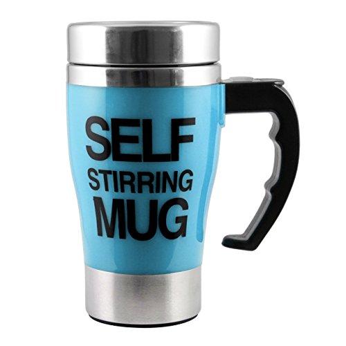 ALAIX che mescola tazza di caffšš - elettrico in acciaio inox automatico Auto di miscelazione Cup - Cute & Divertente, Best for Mattina, Viaggi Blu