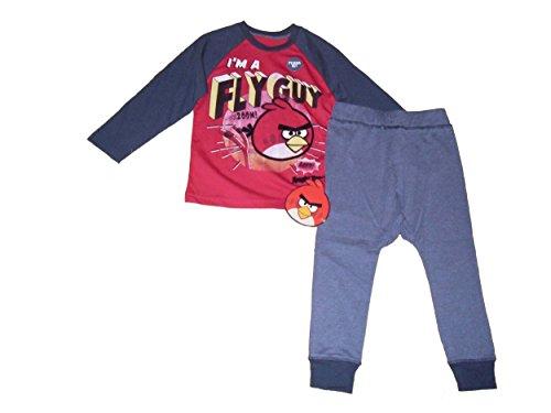 Angry Birds -  Pigiama due pezzi  - ragazzo rosso rosso