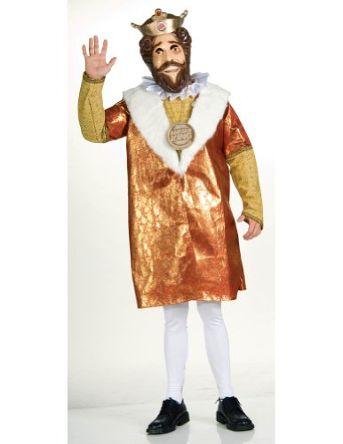 Adult Deluxe Burger King Costume Adult Mens Costume