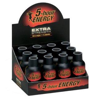 5-Hour Energy Extra Strength (24 bouteilles de