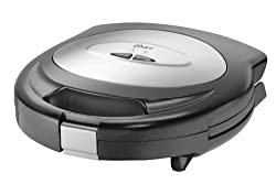 Oster CKSTSM3888 700-Watt 2-Slice Sandwich Maker (Black)