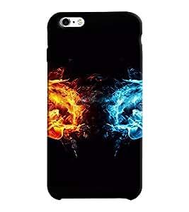 Mental Mind 3D Printed Plastic Back Cover For Apple iPhone 6 -3DIP6-G530