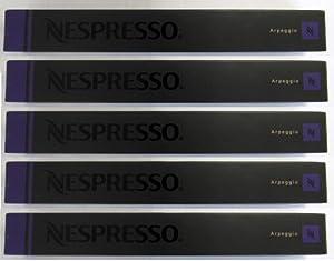 50 Nespresso Capsules Arpeggio Coffee