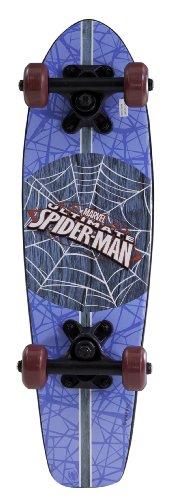 Spiderman-Kids-Blue-Wood-Cruiser-Skateboard-21-Inch