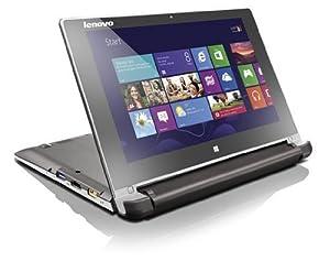 """Lenovo Flex 10 Touch PC portable tactile 10.1"""" Marron (Intel Celeron, 2 Go de RAM, Disque dur 500 Go, Intel HD Graphics, Windows 8.1) + Microsoft Office Famille et Etudiant inclus"""