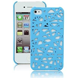 Blue Birds Nest Case for Apple iPhone 4, 4S (AT&T, Verizon, Sprint)