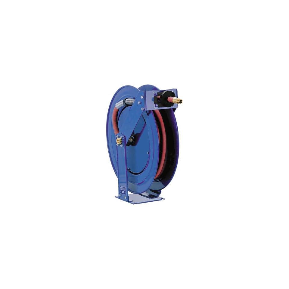Coxreels T Series Supreme Duty Air/Water Hose Reel with Hose, Model# TSH N 575, 3/4 Hose ID, 75 Length