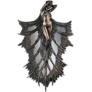 Design Toscano PD1830 Angelic Wings of Nature Wall Sculpture from Design Toscano