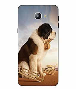 Case Cover Dog Printed Multicolor Soft Back Cover For SAMSUNG Galaxy A9 Pro