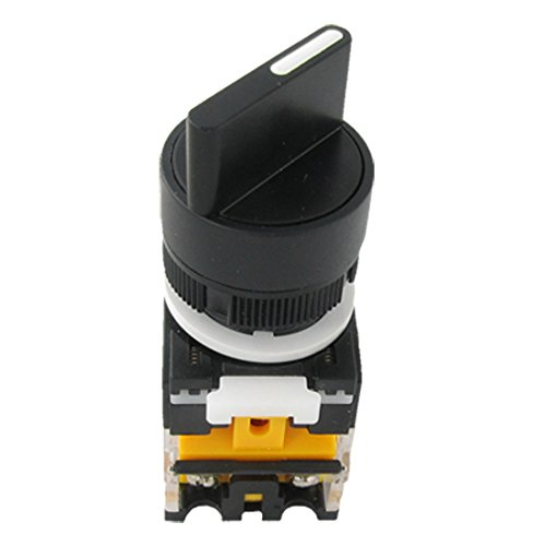 "On/Off/On Three 3 Position Rotary Select Selector Switch 22Mm 7/8"" 10A 660V Ac front-967817"