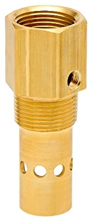 "Control Devices Brass In-Tank Check Valve, 1/2"" NPT Female x NPT Male"