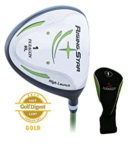 Paragon Rising Star Kids Junior Driver Ages 8-10 Green from Paragon Golf