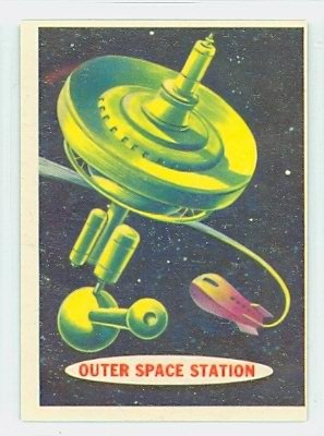 1957 Space 68 Outer Space Station