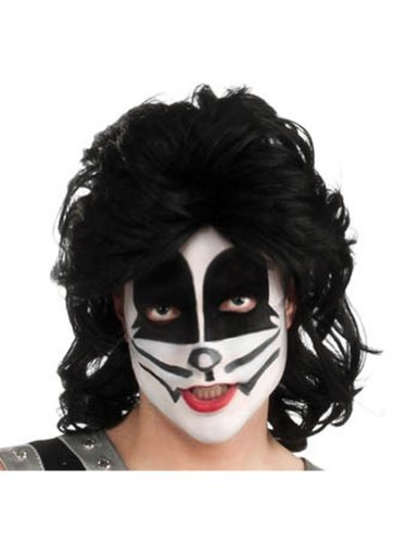 Cat Man Wig Halloween Costume - 1 size