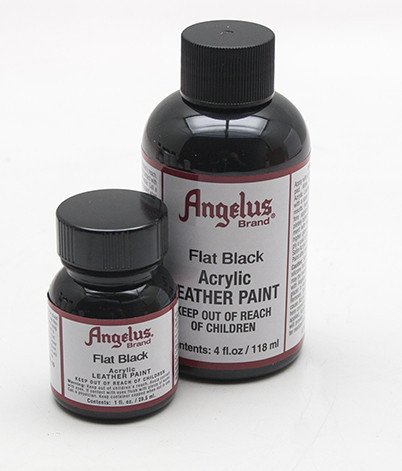 Angelus Leather Paint 4 Oz Black (Shoe Paint compare prices)