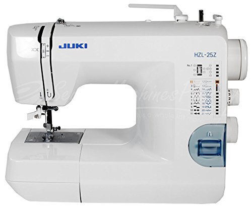 JUKI HZL-25Z Domestic Household Sewing Machine w/ Carrying Case (Juki Button Hole Machine compare prices)
