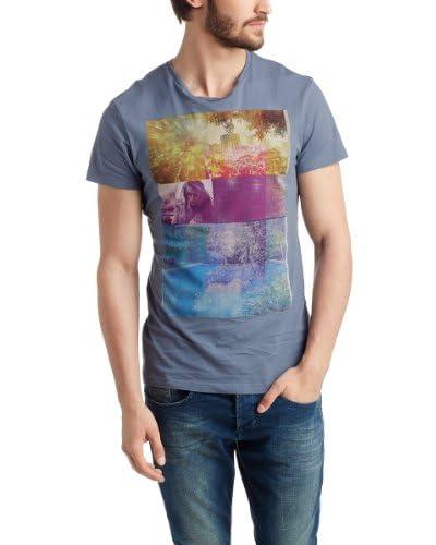 edc by Esprit T-Shirt Manica Corta [Blu Grigio]