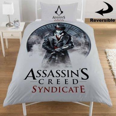 Assassins Creed Syndicate-Set copripiumino per letto singolo