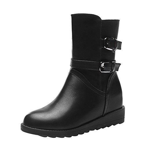 tmates-womens-warm-side-zipper-buckles-black-pu-leather-booties-75-bmusblack