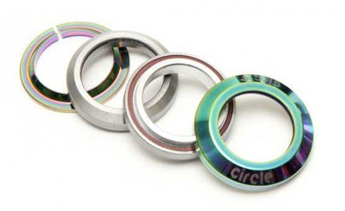 Circle BMX Internal Headset Steuersatz oil slick