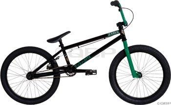 Fiction Fable BMX Bike ED Black/Ghoul Green