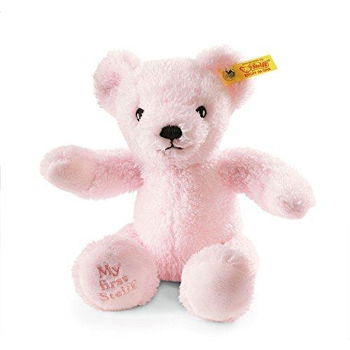Steiff My First Steiff Teddy Bear Plush, Pink