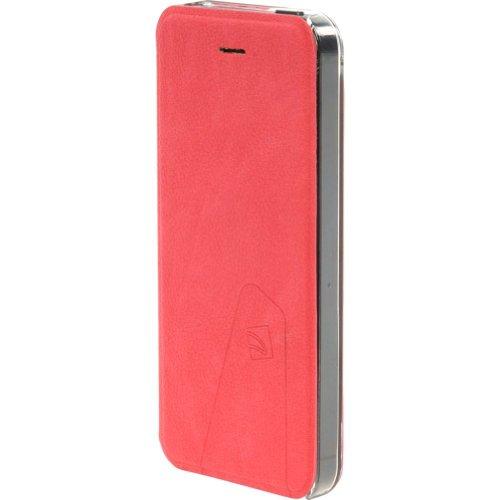 Best Price Tucano Libretto Flip Case For IPhone 5 (Red)