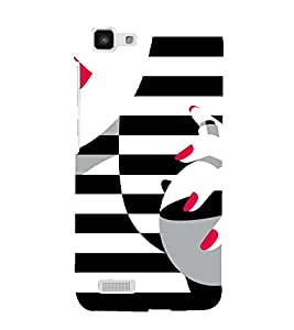 PrintVisa Fashion Perfume Design 3D Hard Polycarbonate Designer Back Case Cover for Vivo Y27L