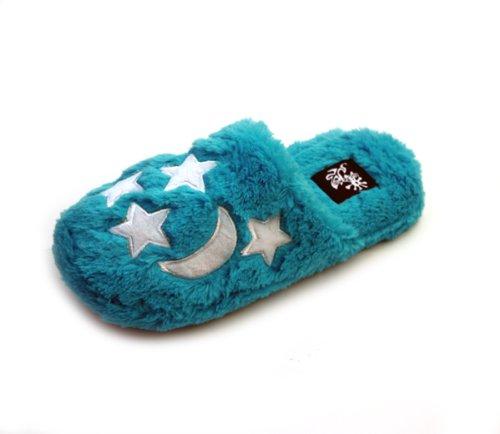 Cheap Luckers Women's Blue Stars n Moon Slippers (B008RCIM7Q)