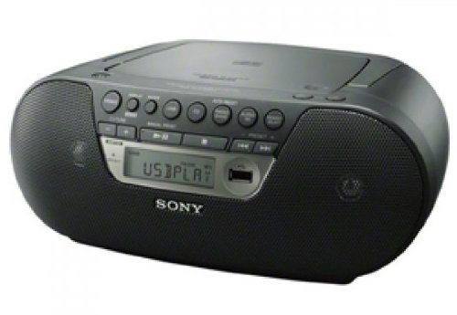 Sony Compact Portable Cd Usb Am/Fm Boombox Speaker