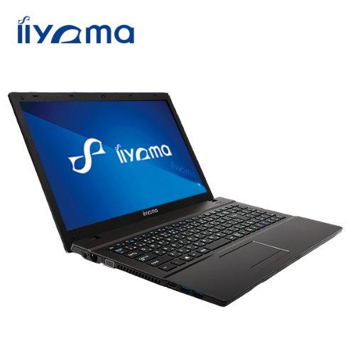 iiyama 15P3200-i3-TGM [Windows 8.1搭載](15.6型HD光沢液晶/Core i3-4100M/1TB/4GB/DVD) ノートパソコン