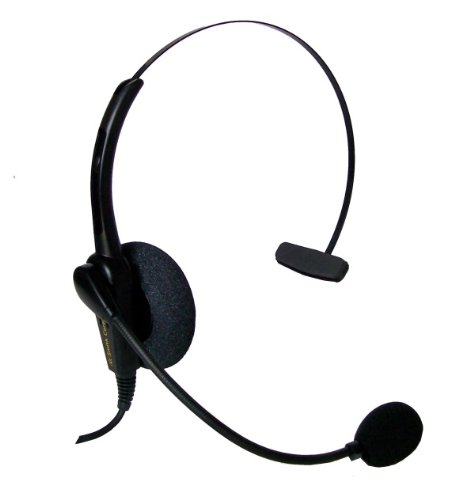 Smith Corona Classic Monaural Headset With Cisco Cord Included